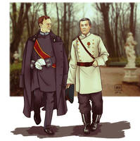 Mystrade: AU, Russia, the end of the 19th century