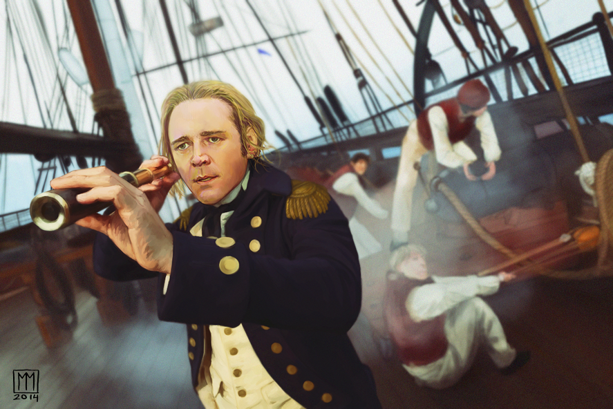 jack aubrey Set in the royal navy during the napoleonic wars, o'brian's twenty-volume  series centers on the enduring friendship between naval officer jack aubrey and .