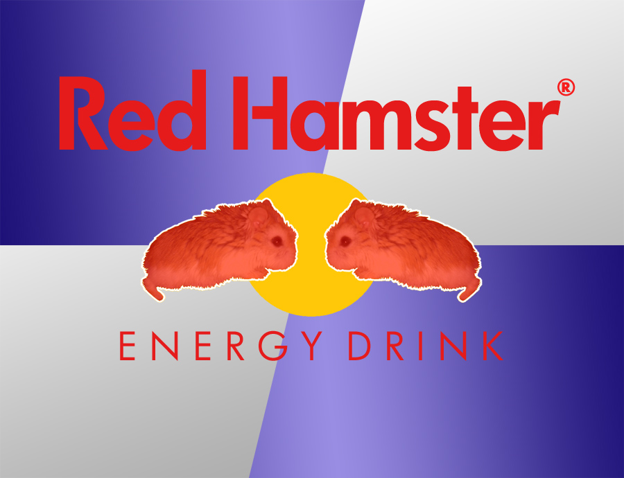 Red Hamster Energy Drink by hedspace77