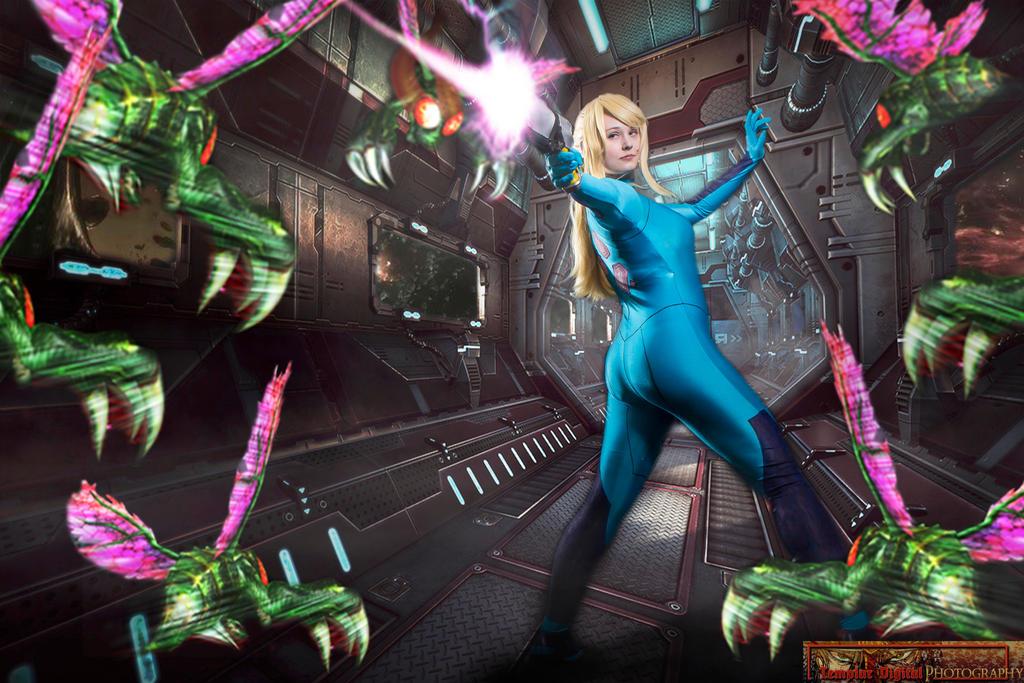 Metroid - Corridor Battle by MrSnugglez84