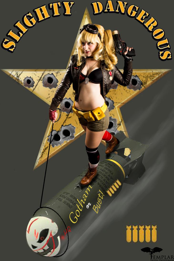 Bombshell Harley Quinn by MrSnugglez84