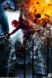 Spiderman: Close Call by MrSnugglez84