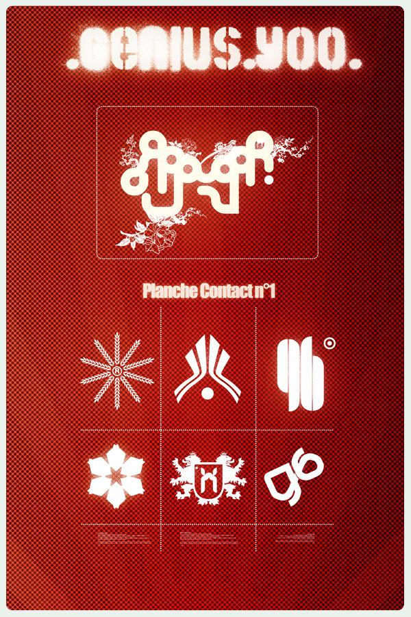 Genius contact logotype by Y0o