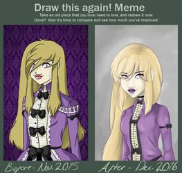 Improvement meme ohoho