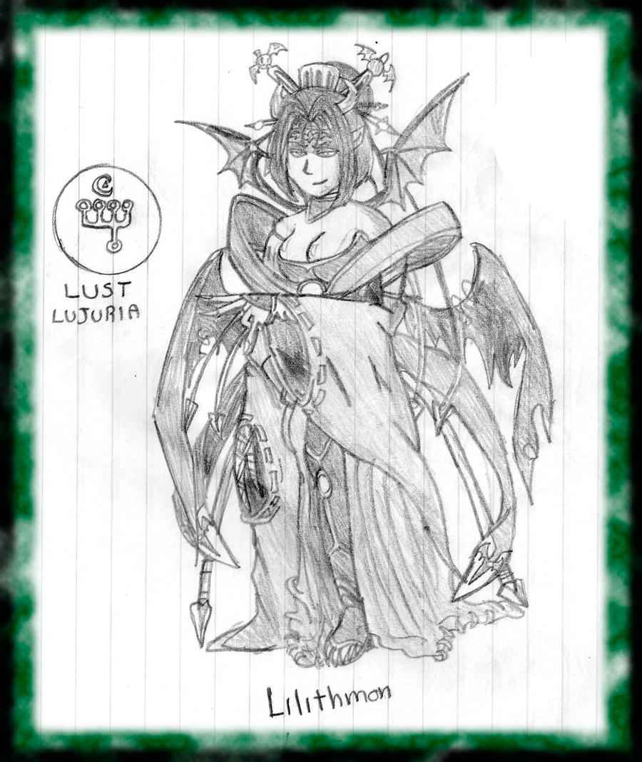 Lilithmon the Demon of Lust by Lilithmon-666