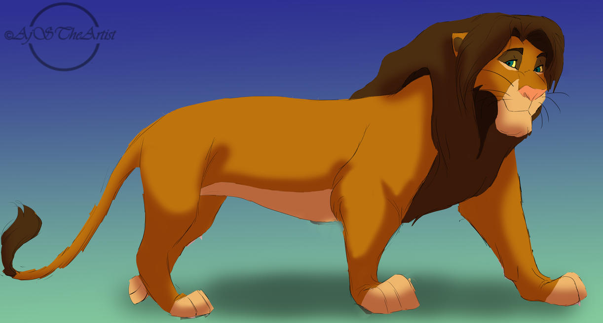 P.O The Lion King Tojo_by_ajstheartist-d5cxhsi