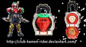 Kamen Rider Gaim - Lock Seed 02 Ichigo