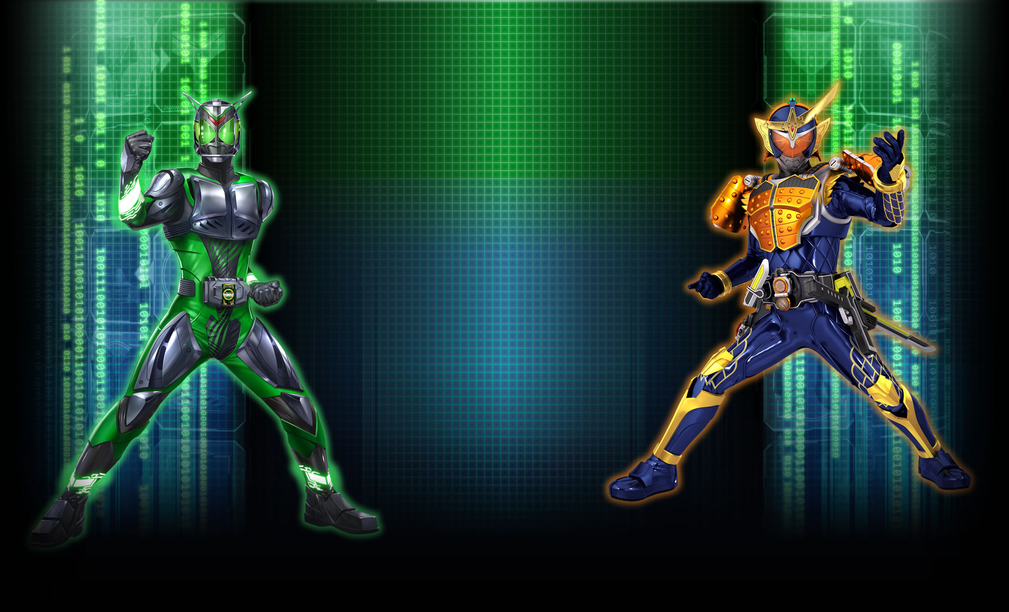 Ganbarizing Wallpaper Gaim and Ganbarizing Rider by Kamen ...