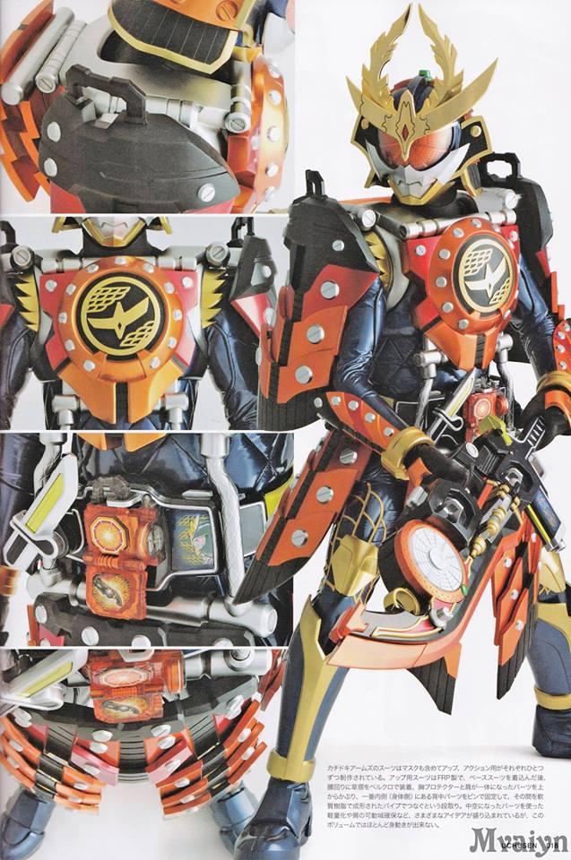 Kamen Rider Gaim - Kachidoki Arms (Image 3) by Kamen ...