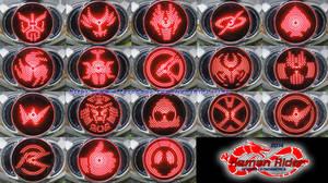 Kamen Rider DRIVE - Drive Driver Symbols