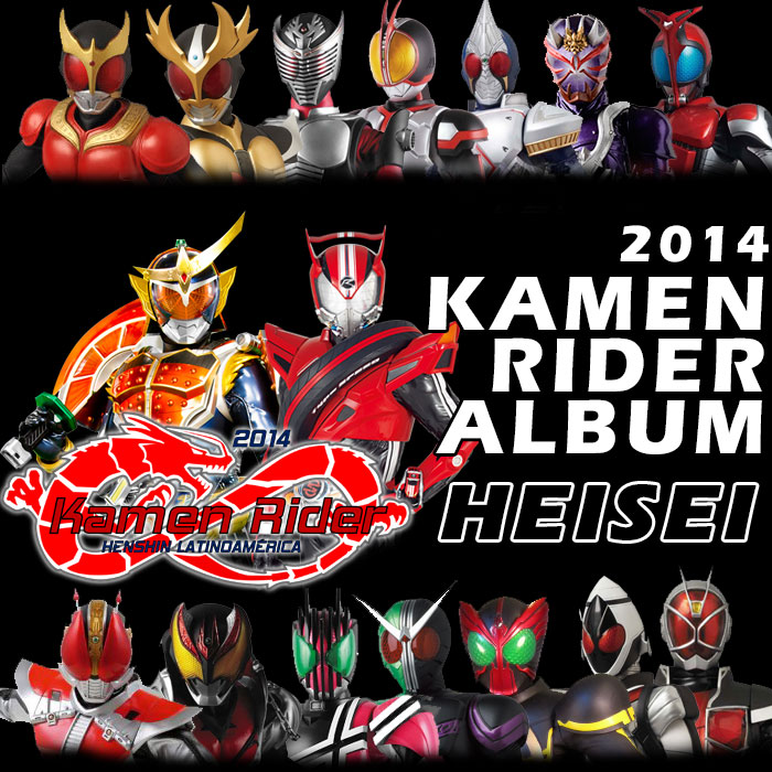 Album] Kamen Rider Album Heisei 2014 Download  by Kamen-Riders on