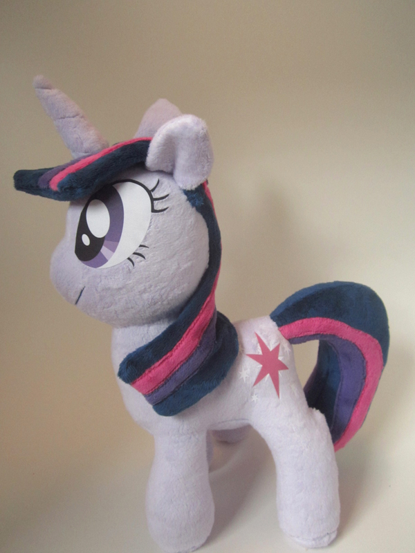 Twilight Sparkle Plushie by Brainbread