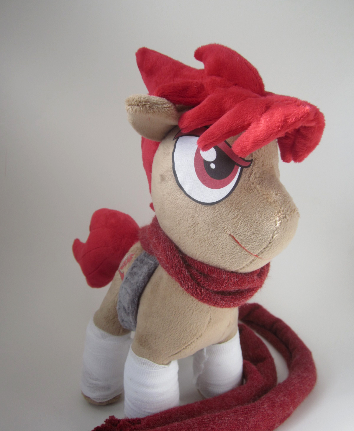 Strider Ponyru Plushie by Brainbread