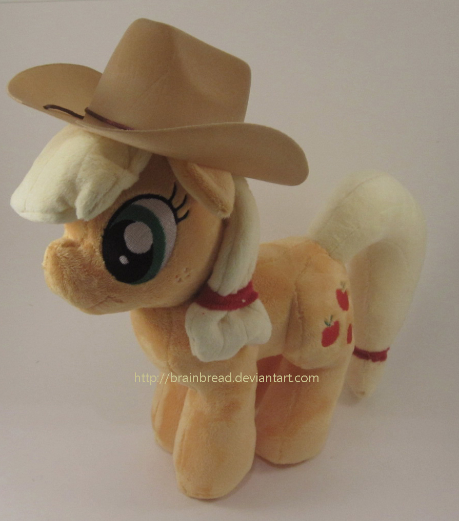 Applejack Plushie by Brainbread