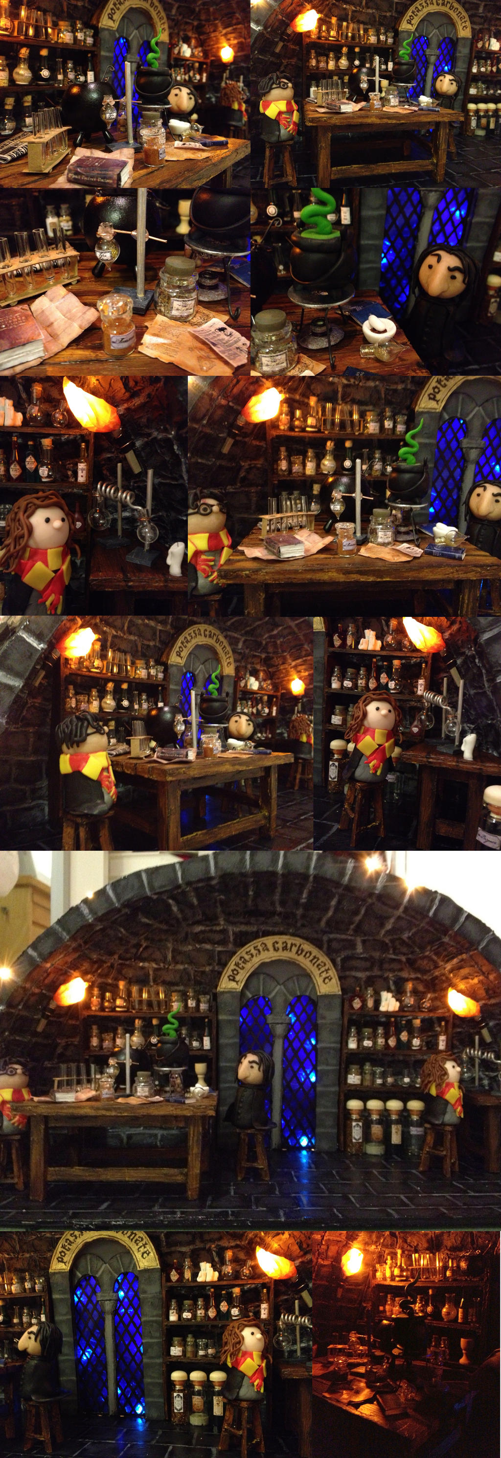 Potions classroom by KatjaFin