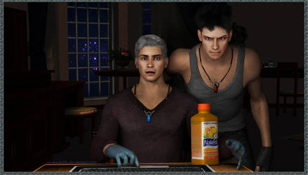 Dante, this juice is mine by MsDeadable