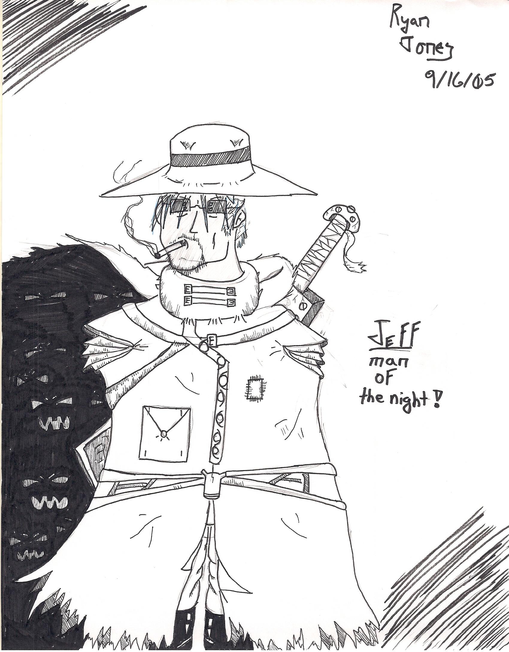 Jeff man of the night by Sturm75