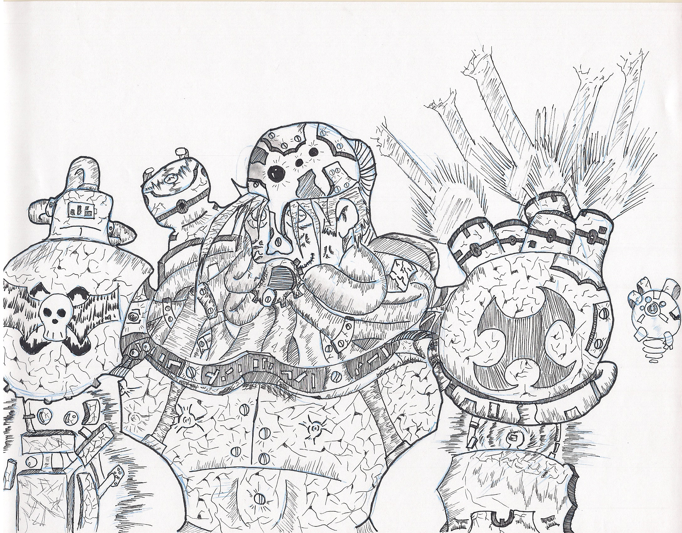Machine or Man, all rage by Sturm75