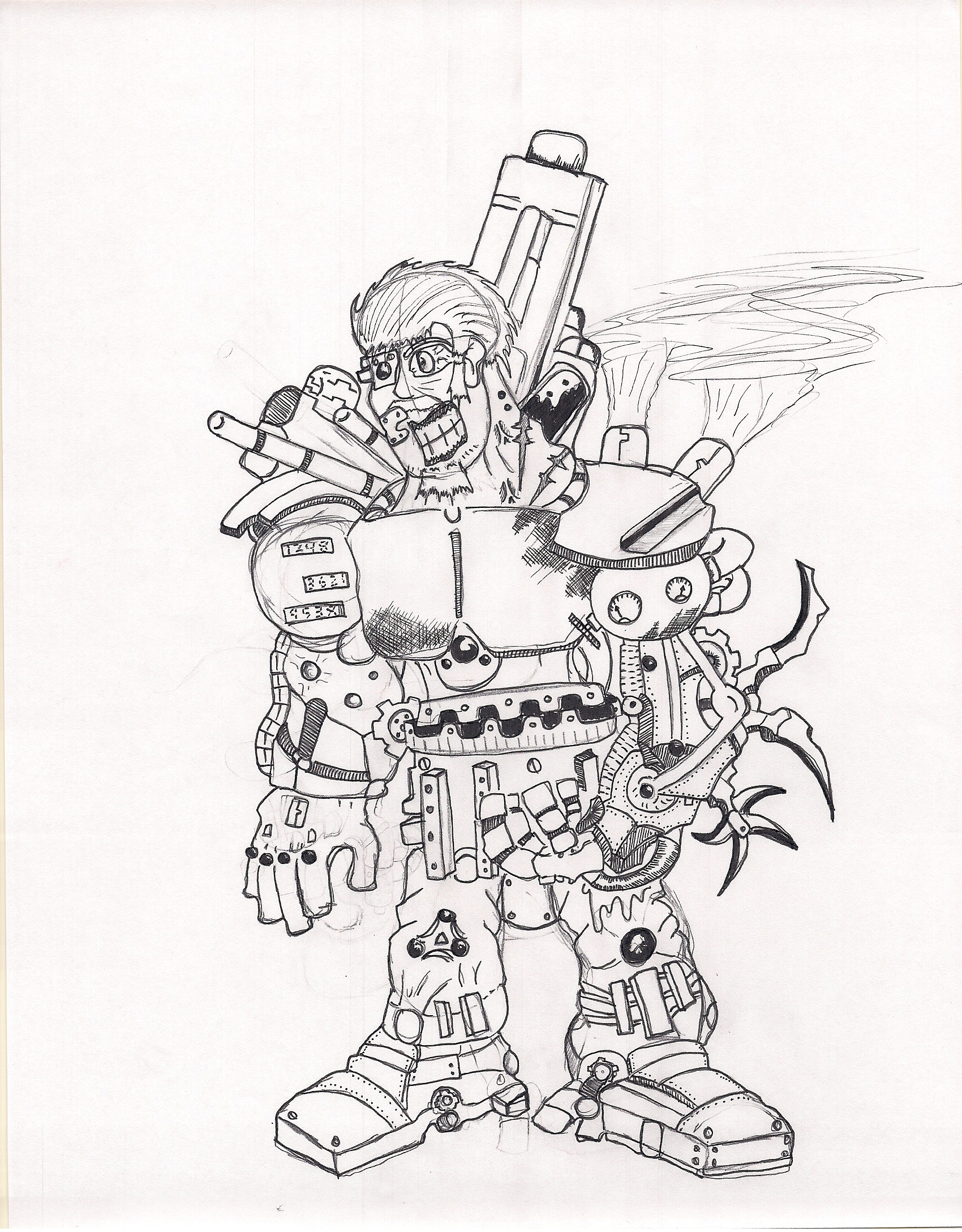 Scrap man by Sturm75