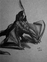 Dragon Rider by SerraArc