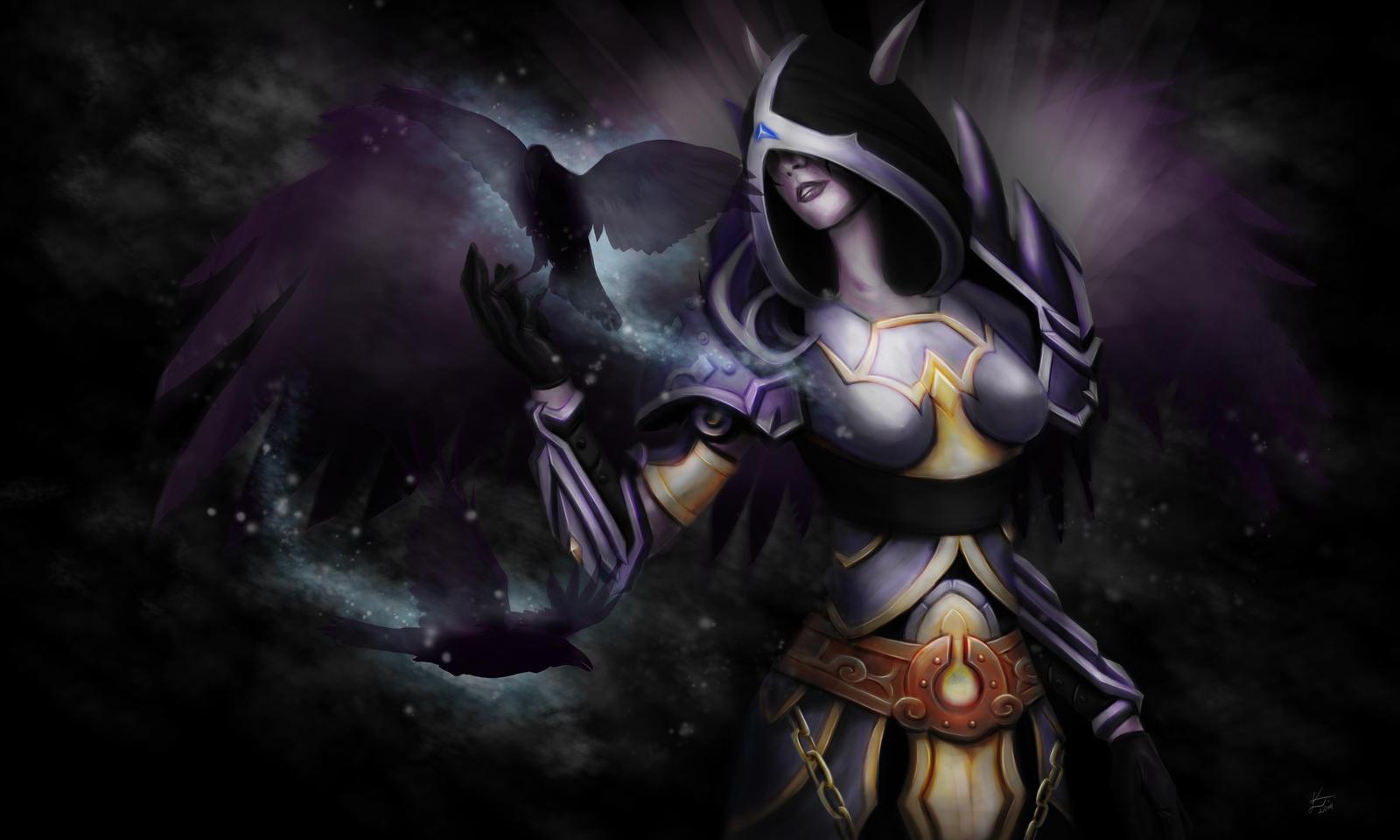 Shadow priest by SerraArc