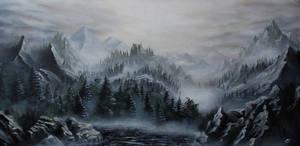 Skyrim Landscape (for sale)