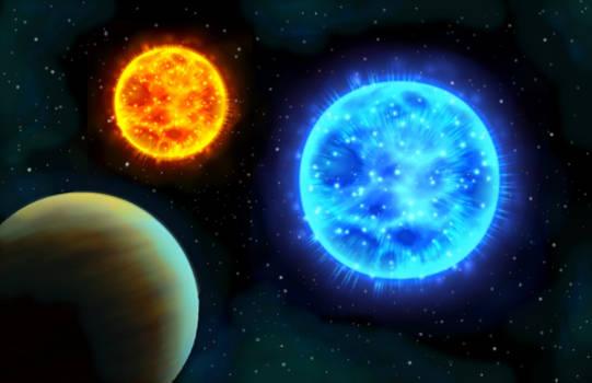 Binary Solar System