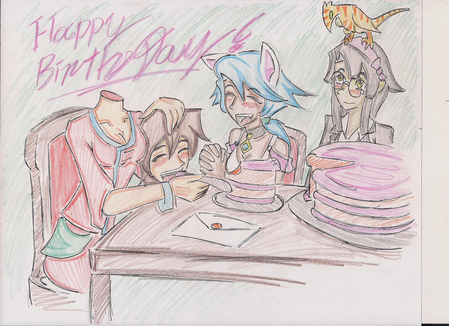 Happy Birthday ~drawitbig by Gear-of-Ren