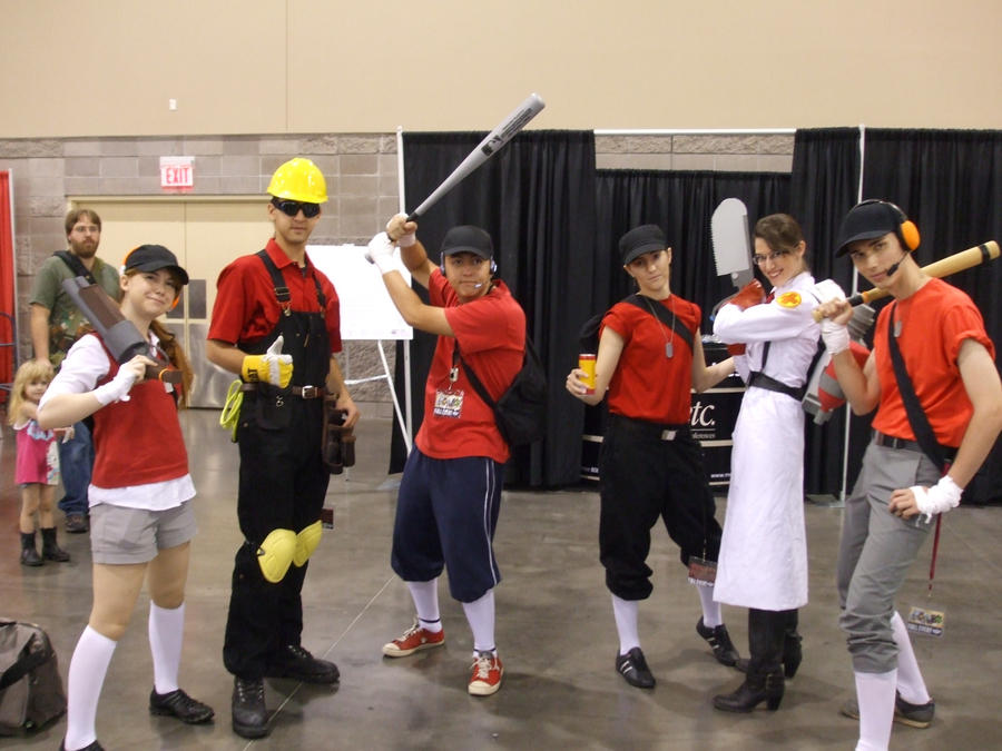 Team Fortress 2 (Cosplay) by gear25