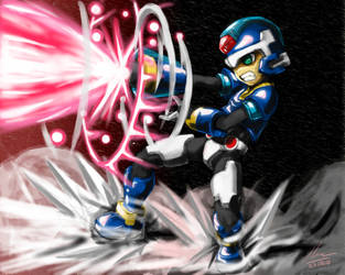 Rockman Model X by HaruSaku