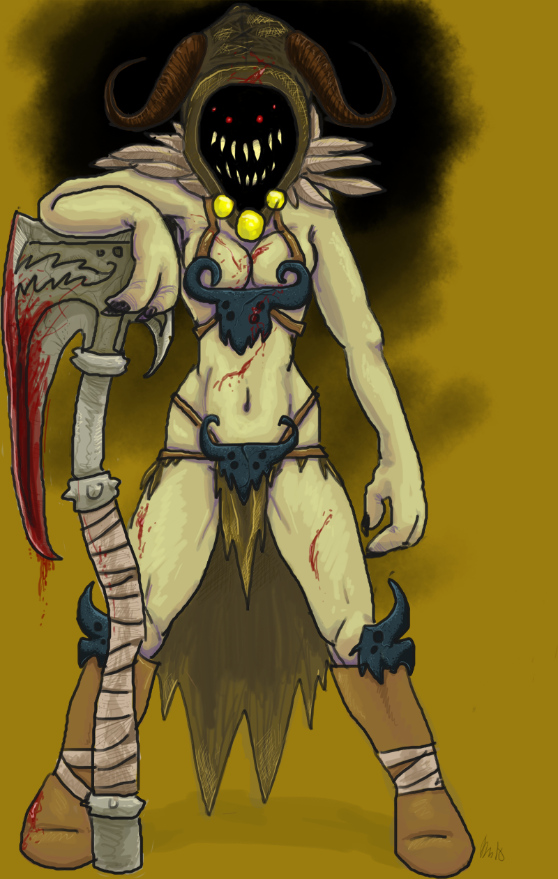 Demon Barbarian