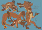 sketch page commish