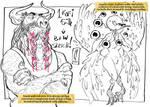 FURRY FEB black and white kofi sketches