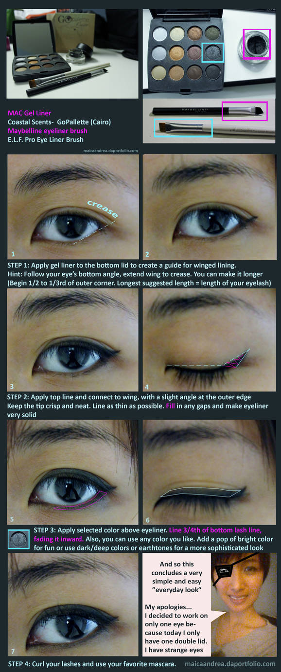 Simple Eye Makeup Tutorial by xarcticwolfe ...