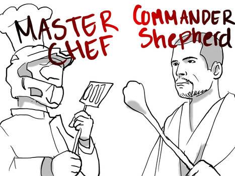 Doodle: Master Chef Vs. Commander Shepherd