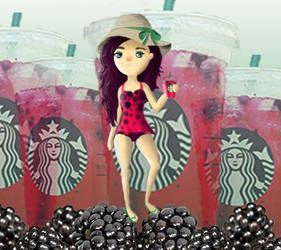 Starbuck's Berry Refresher by ta11y16lupus