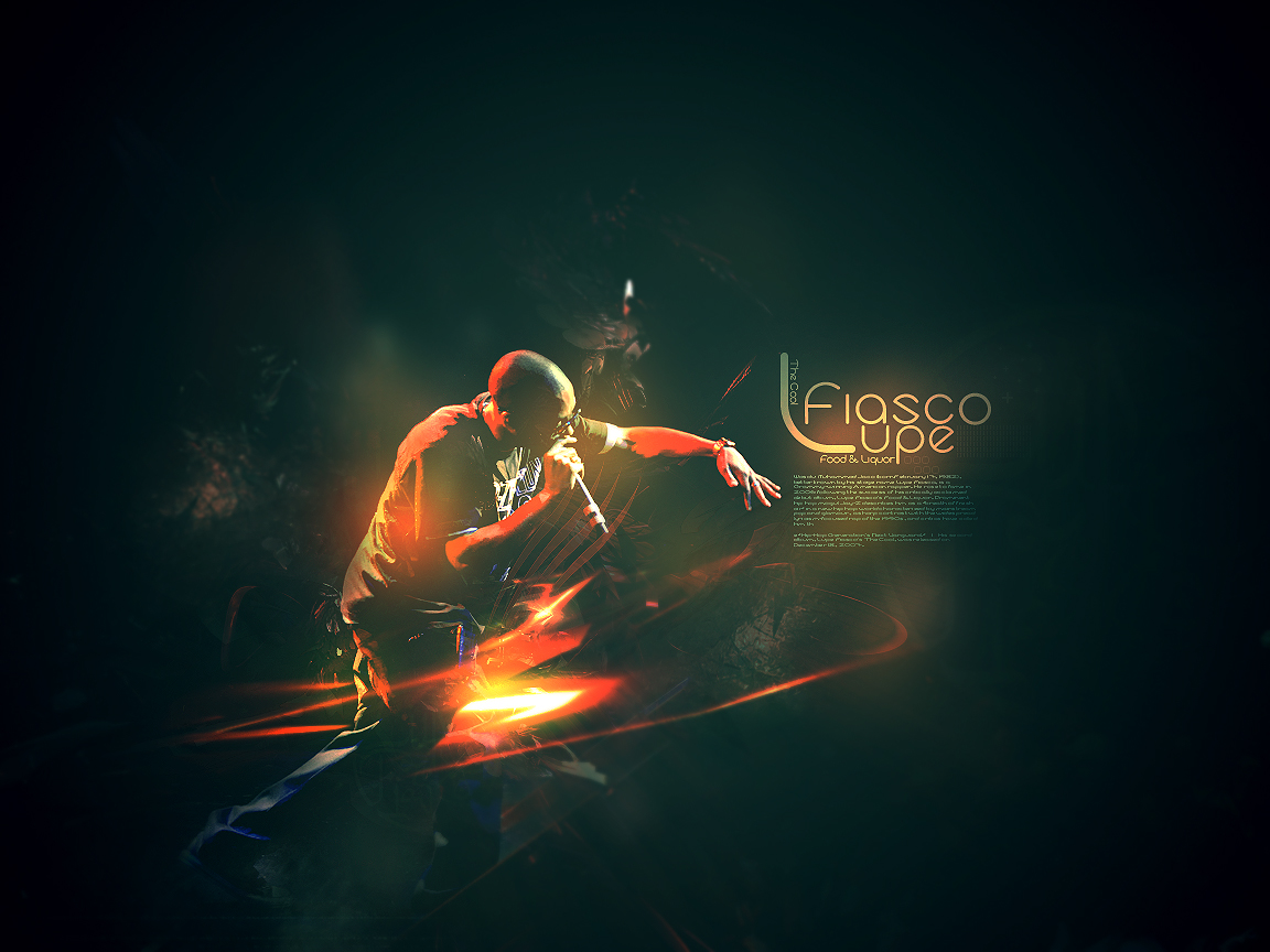 Lupe Fiasco Wallpaper-Dark by Sheed89