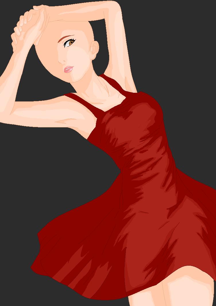 Red Bases For Living Room Decor: Little Red Dress Base By SquidwardBases On DeviantArt