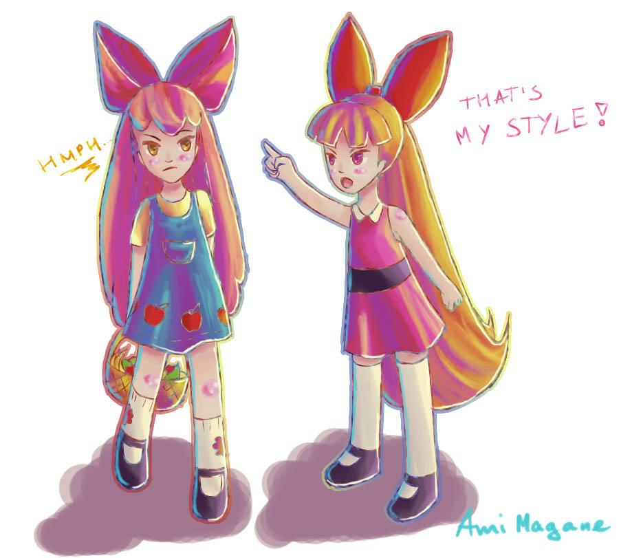 Hey! Applebloom!! by Ami-Magane