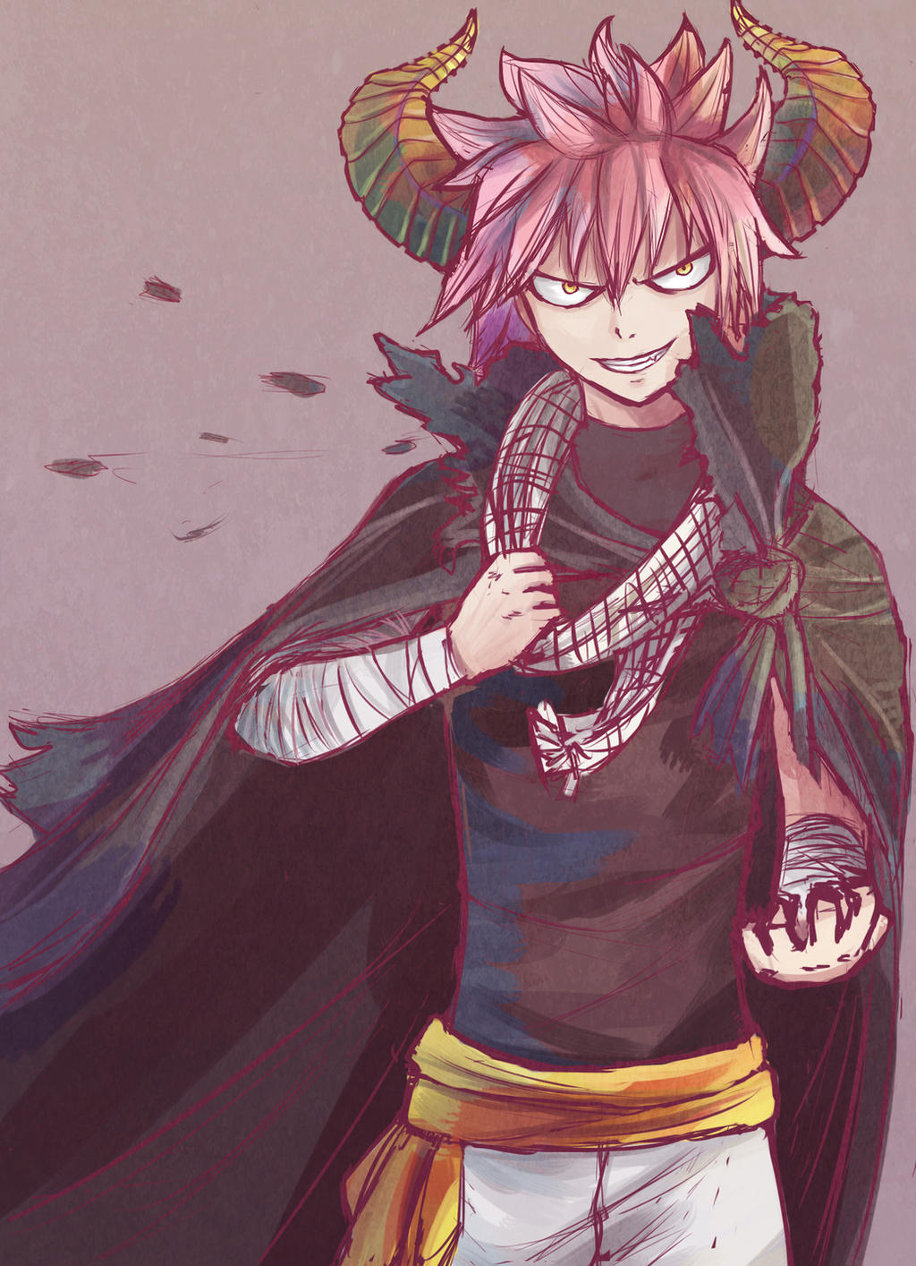 Great Demon Lord Dragneel by Ami-Magane