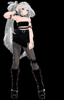 TDA Blackbird Miku - DL
