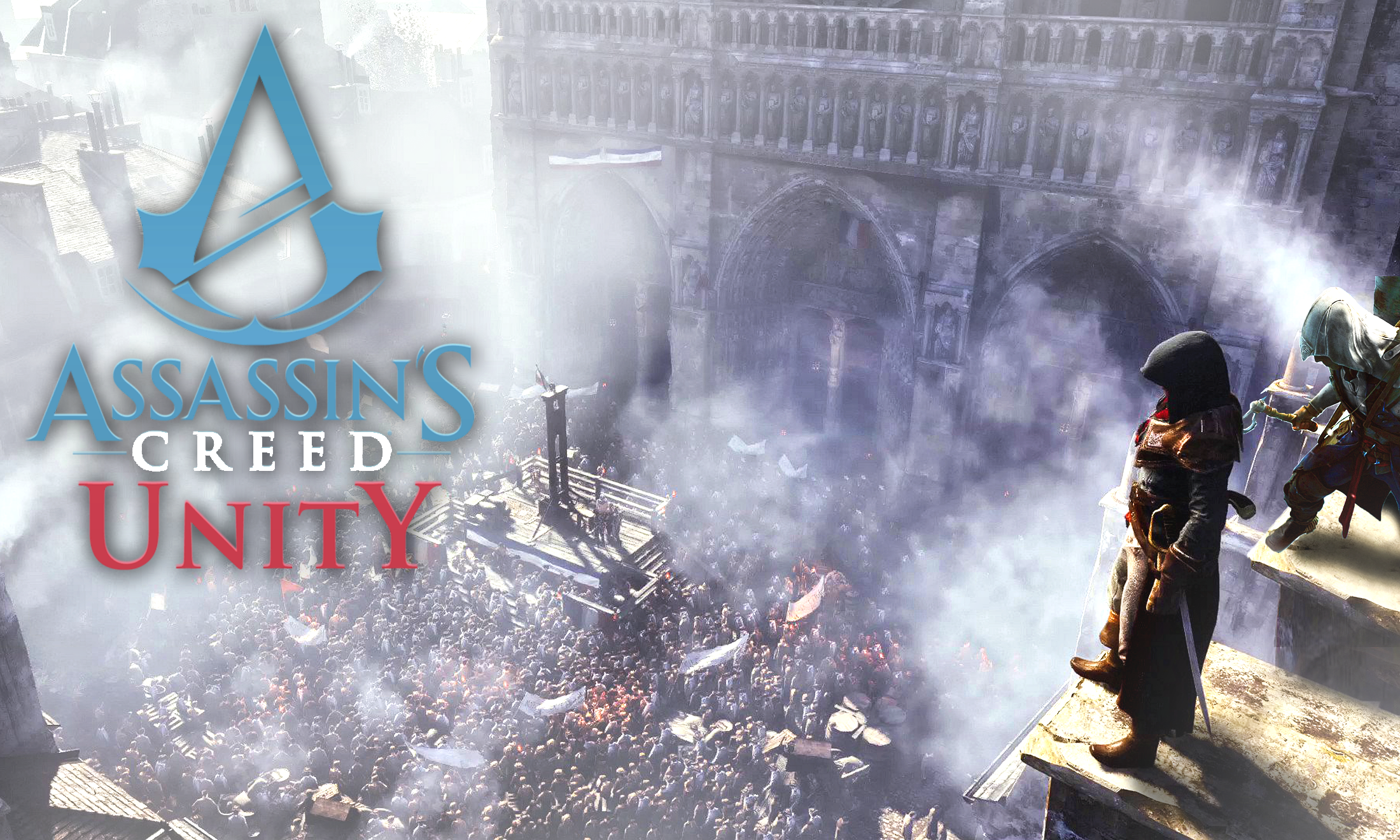 Assassins creed unity wallpaper w connor assassinscreed - Assassin s creed unity wallpaper ...