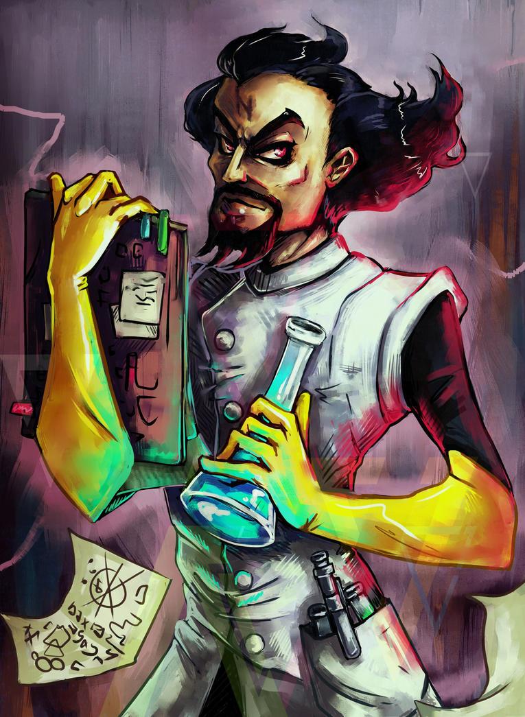 Dr. Neo Cortex by Elza-Shtolz