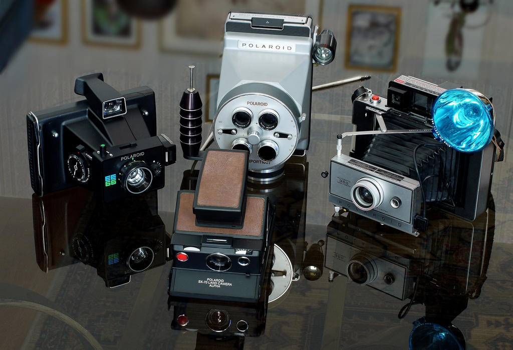 Polaroids by xotz