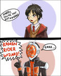 Kamen Rider Wizard !?