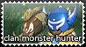 Stamp Monster Hunter by Magoblancopower