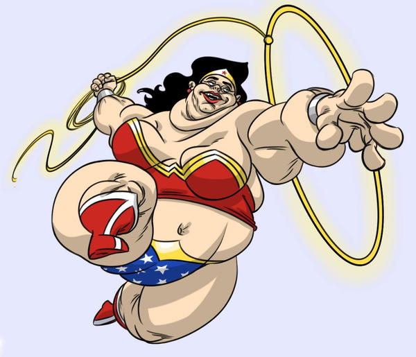 Fat Wonder Woman Blog 97