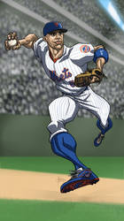 David Wright by MBorkowski