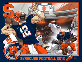Syracuse Football 2012 by MBorkowski