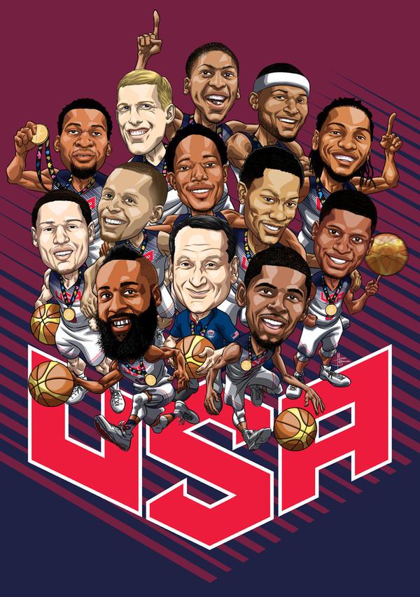 Team USA - &#39-Next Level&#39- (WALLPAPER) | SLAMonline